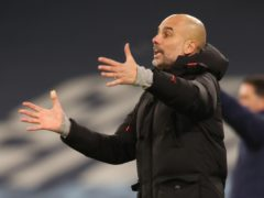 Pep Guardiola says Manchester City will not be adding to their squad in January (Clive Brunskill/PA)