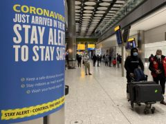 Boris Johnson is expected to approve plans to force some travellers arriving to the UK to quarantine in hotels to limit the spread of new coronavirus variants (PA)