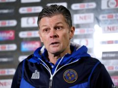 Shrewsbury manager Steve Cotterill has been ill with Covid-19 (Zac Goodwin/PA)