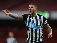 Newcastle skipper Jamaal Lascelles bemoaned their second-half display in defeat to Arsenal. (Adam Davy/PA)
