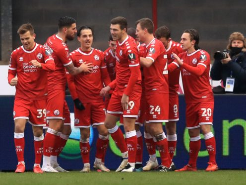 Crawley beat Leeds in the third round (Adam Davy/PA)