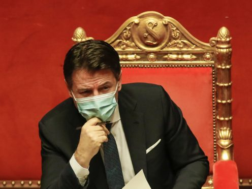 Giuseppe Conte (AP Photo/Alessandra Tarantino, pool)