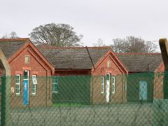 Napier Barracks in Folkestone, Kent (Gareth Fuller/PA)