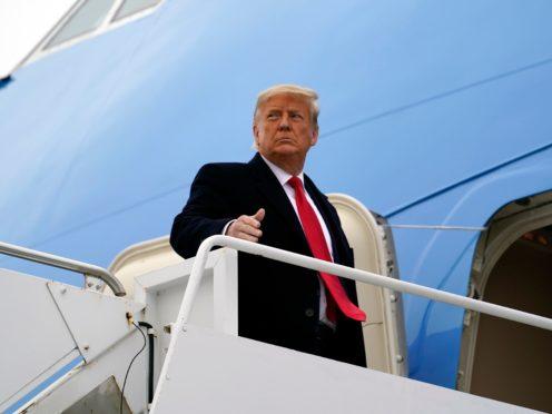 The pardons were announced in the final hours of Donald Trump's White House term (Alex Brandon/AP)