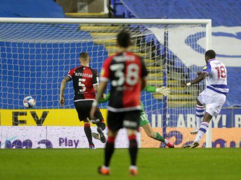 Lucas Joao opened the scoring for Reading (David Davies/PA)