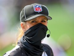 Sarah Thomas will make history as the first woman to officiate at a Super Bowl (David Richard/AP)