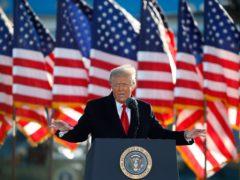 Donald Trump (Luis M Alvarez/AP)