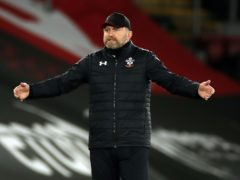 Ralph Hasenhuttl led Southampton to FA Cup victory over Arsenal on Saturday. (Paul Childs/PA)