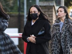 Former So Solid Crew member Lisa Maffia arrives at Croydon Magistrates' Court in south London (PA)