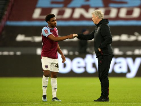 Oladapo Afolayan scored in West Ham's 4-0 win over Doncaster (Nigel French/PA)