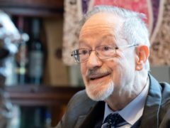 Retired doctor Martin Stern, 82, who was taken in by kindly neighbours in Amsterdam during the Second World War (Justin Grainge/Holocaust Memorial Day Trust/PA)