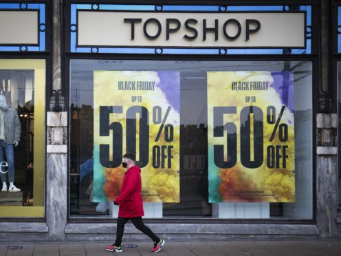 Topshop and Topman reportedly failed with gross liabilities of more than £550 million (PA)