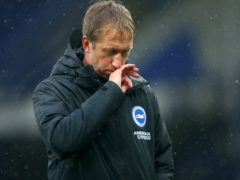 Brighton boss Graham Potter has plenty to ponder ahead of the visit of Fulham (Alex Livesey/PA)