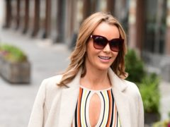 Amanda Holden outside the Global Radio studios (Ian West/PA)