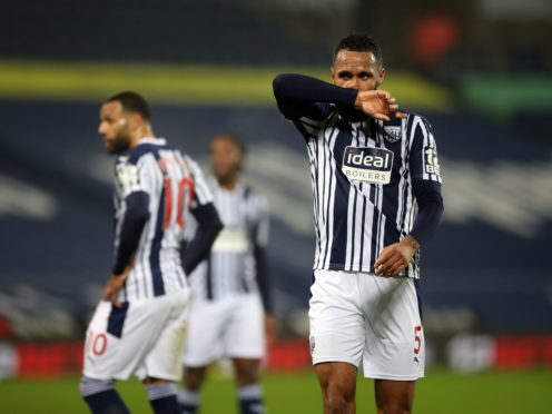 West Brom's players were locked in the dressing room for an hour. (Nick Potts/PA)