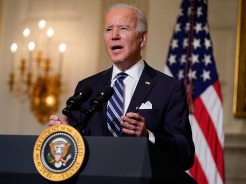 President Joe Biden's administration faces a terrorism threat, experts said (Evan Vucci/AP)