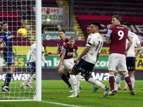 Villa lost 3-2 at Burnley ahead of Saturday's trip to Southampton (Carl Recine/PA)