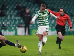 Leigh Griffiths was on target for Celtic (Andrew Milligan/PA)