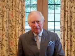 Holocaust Memorial Day Trust of the Prince of Wales speaking in a video message (Holocaust Memorial Day Trust/PA)