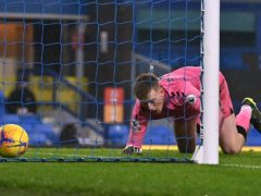 Jordan Pickford's error allowed Leicester to score an equaliser (Paul Ellis/PA)