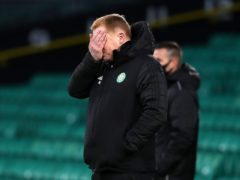 Neil Lennon says he is hit a low as Celtic manager after the St Mirren defeat (Andrew Milligan/PA)