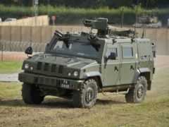 A Panther Command and Liaison Vehicle (PA)