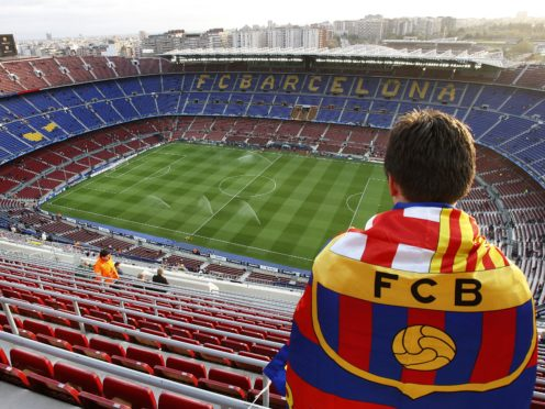 Barcelona remain top of Deloitte's Football Money League but with diminished revenues (Nick Potts/PA)