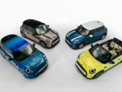 The updates apply across the Mini range