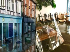 Northwich Coffee Shop Abda's was hit by flooding (Abda Ltd Coffee Shop)