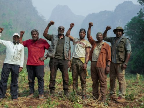 Spike Lee's Vietnam War movie Da 5 Bloods was named the year's best film by the US National Board of Review (Netflix/PA)