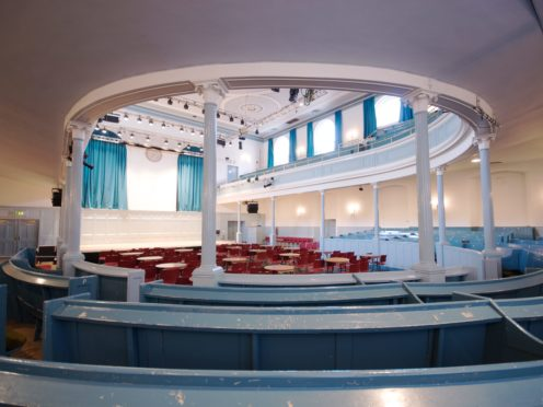 Inside the Queen's Hall in Edinburgh (Historic Environment Scotland/PA)