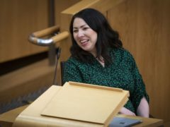 Scottish Labour leadership contender Monica Lennon said the party needed to change and can no longer rely on 'party grandees getting wheeled out to preach to the nation' (Jane Barlow/PA)
