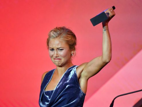 Australian of the Year winner Grace Tame (Mick Tsikas/AAP Image via AP)