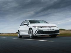 Revised suspension does mean that the Golf is firmer than before