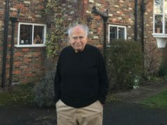 Professor Gregory Gregoriadis outside his house in Northwood, Middlesex, north-west London (Gregory Gregoriadis)