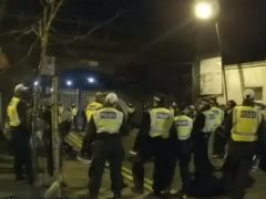 Scene of the incident in Nursery Road, Hackney (Met Police/PA)