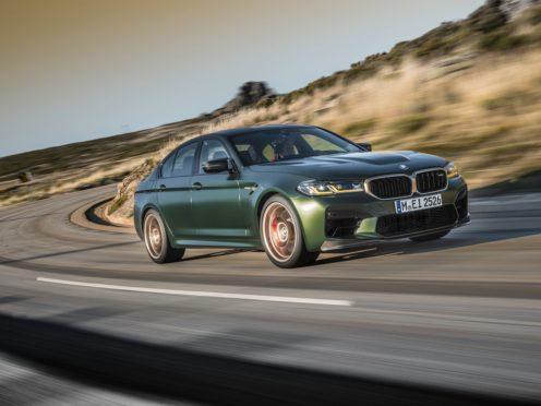 The M5 CS uses a twin-turbocharged 4.4-litre V8