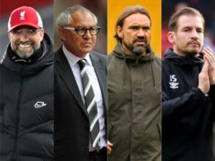 Thomas Tuchel will follow in the footsteps of fellow Germans (l-r) Jurgen Klopp, Felix Magath, Daniel Farke and Jan Siewert (PA)