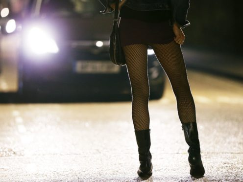 Sex workers have been left to 'fall through the cracks' during the Covid-19 pandemic, a charity claimed (Yui Mok/PA)