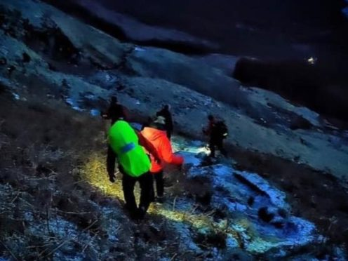 The two women were rescued on Ben Lomond (G Kelly/Lomond MRT/PA)