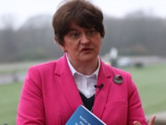 First Minister Arlene Foster speaking to the media at Stormont following the publication of the research report on Mother and Baby Homes and Magdalene laundries in Northern Ireland. Picture date: Tuesday January 26, 2021.