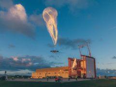 Loon balloon (Loon/Alphabet/PA)