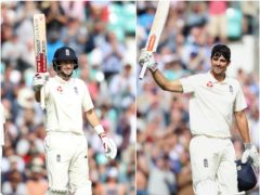 Can Joe Root, left, surpass Sir Alastair Cook's England record? (Adam Davy/Jason O'Brien/PA)