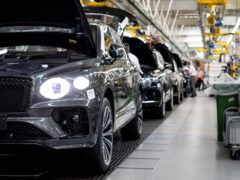 Bentley Bentayga production has started