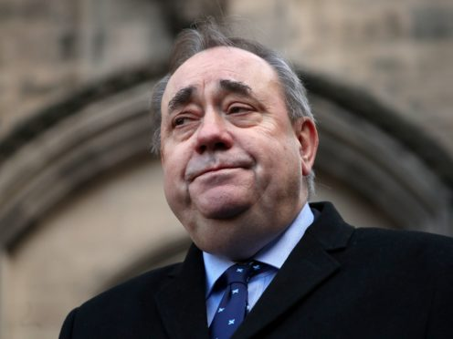 Former first minister Alex Salmond is being urged to answer questions from MSPs probing the Scottish Government's botched handling of harassment complaints against him. (Jane Barlow/PA)
