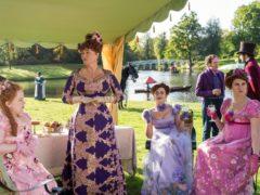 Bridgerton is set in the early 19th century (Liam Daniel/Netflix/PA)