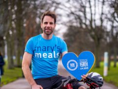 Mark Beaumont is supporting the Mary's Meals campaign (Chris Watt/PA)