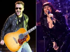 Eric Church, left, and Jazmine Sullivan (Chris Pizzello/Invision/AP, File)