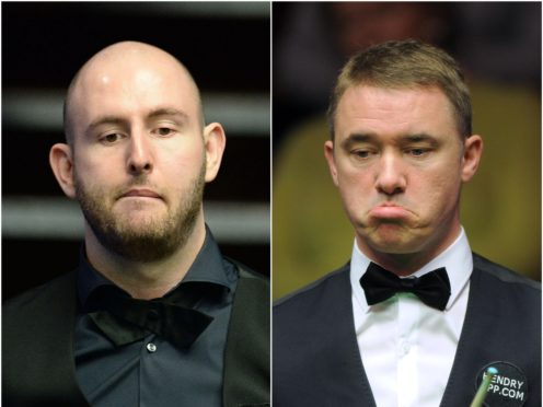 Stephen Hendry will launch his comeback against good friend Matthew Selt (PA)