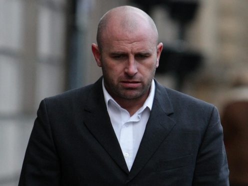 Former Manchester United midfielder Ronnie Wallwork arrives at Preston Crown Court (Dave Thompson/PA Images).